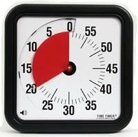 TimeTimer handig voor alle soorten momenten, van hoe lang iets nog duurt tot hoe lang kinderen iets zelfstandig mogen doen. Met of zonder belletje op het eind (zelf in te stellen)
