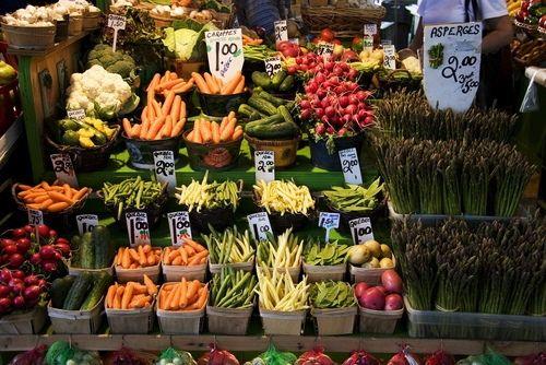 seasonal locally grown vegetables...pure art!
