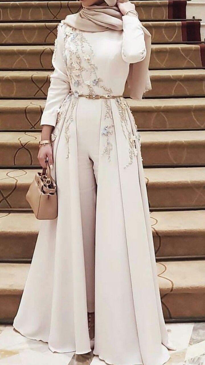Pin By Aquilah Hani On Evening Dress Hijab Dress Party Jumpsuit Prom Dress Soiree Dress [ 1280 x 720 Pixel ]