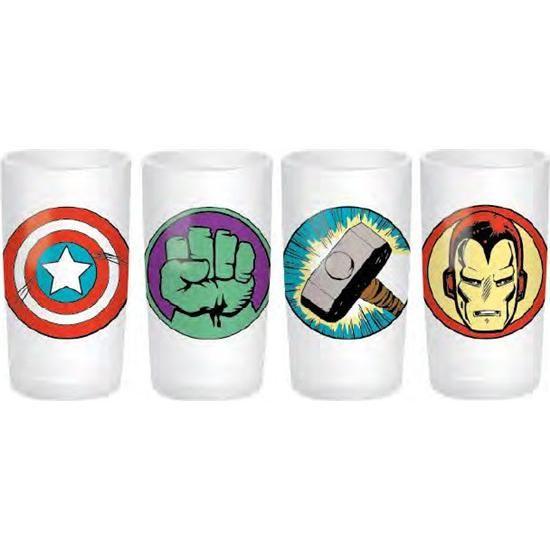 Marvel Marvel Comics Shotglas 4-Pak