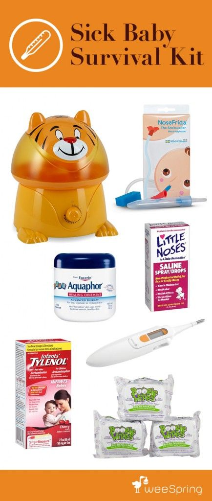 The Ultimate Baby Gift: Sick Baby Survival Kit | weeSpring