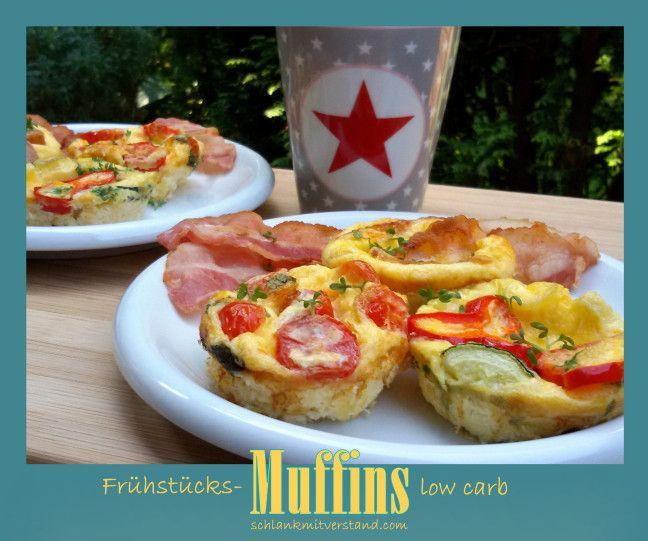 Frühstücks-Muffins mit Ei low carb | schlank mit verstand