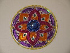 Como hacer Mandalas DIY   ReciclaconErika