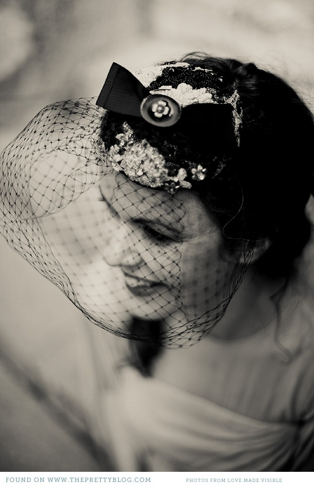 Ribbon headpiece
