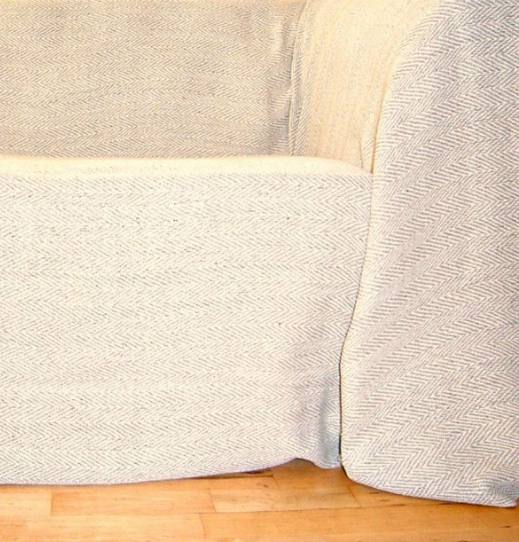 100% Cotton Natural And Beige Herringbone Giant Throw 259x394cms   Special  Offer Only £30