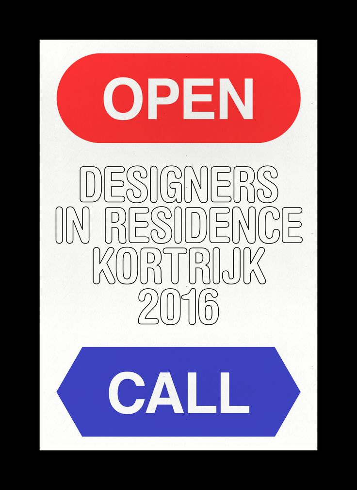 """corbinmahieu: """" Designregio Kortrijk is looking for highly motivated and recently graduated designer-makers or creative artists. The Designers in Residence Kortrijk program is 3-month full time working residency (September to December..."""