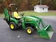 John Deere 2305 Tractor 4WD w/ Loader and Backhoe