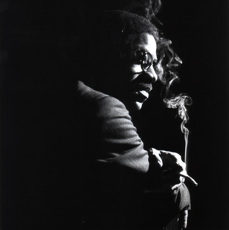 """themaninthegreenshirt: """"Joe Henderson, """"Our Thing"""" cover session at the Blue Note office. October 1963 """" . 50,000 #Jazz & #Blues Tracks & Pics https://twitter.com/JazzBreak Help Others … #jazz ."""