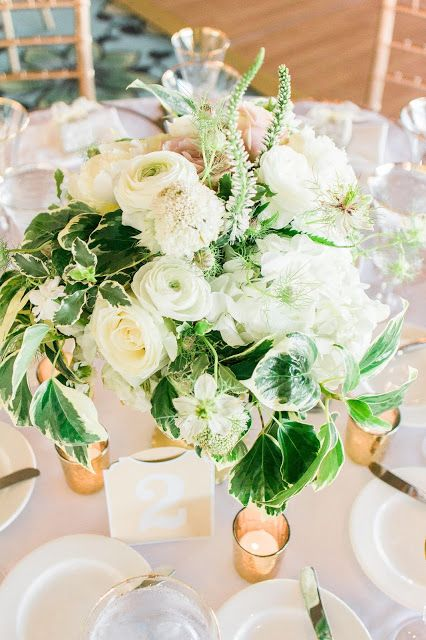 Events by Satra: Nichole & Reese   Fairmont San Francisco Wedding    Events by Satra // JBJ Pictures // fairmont sf wedding, fairmont san francisco wedding, white flowers, white and green flowers wedding, gold candles