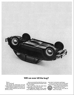 Another legendary ad by Doyle Dane Bernbach