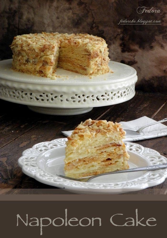 """Ossigeno: Класическа торта """"Наполеон"""""""