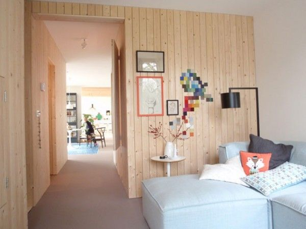 retail interior modern wood eclectic color | Home of Christien Starkenburg
