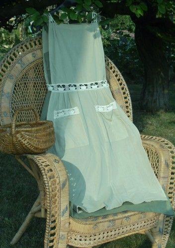 Robe avec chasuble du magazine 100 Idées