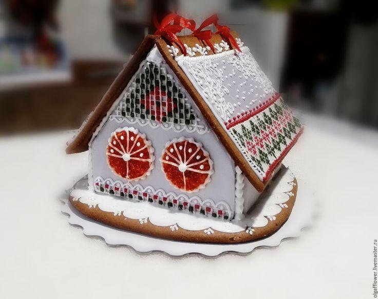 """Купить Пряничный домик """" Орнаменты"""" - пряник, пряники, пряничный сувенир, пряничный домик"""