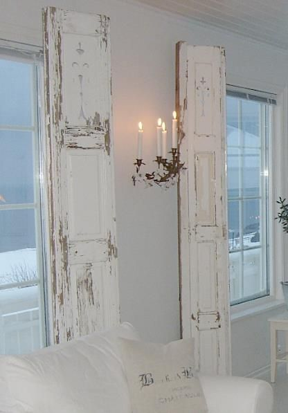 Distressed Shutters Indoor Dream Home Pinterest