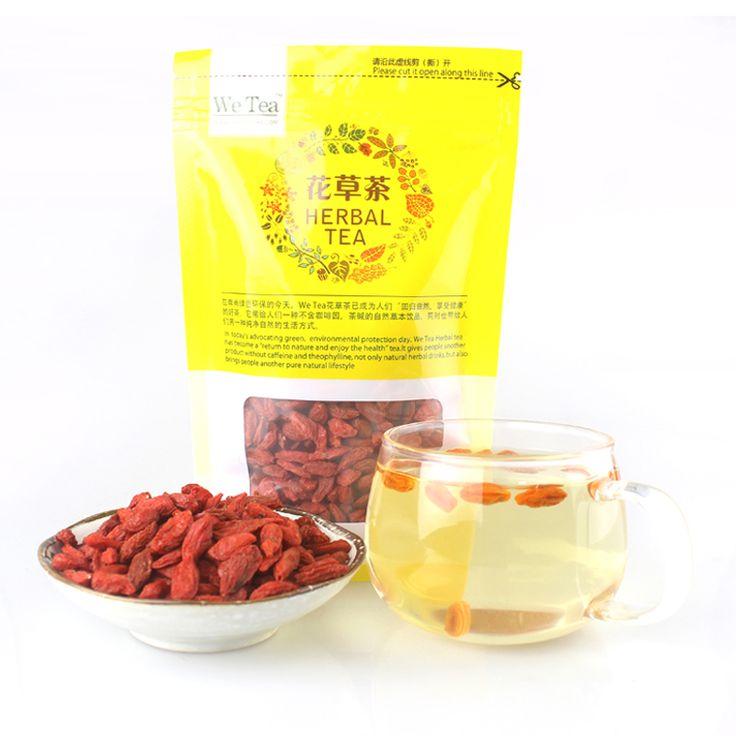 2016 Le plus grand Chinois goji Top Baies de Goji Pure Vrac Sac Certifiés BIOLOGIQUES, alimentaire Vert, goji goji berry goji thé