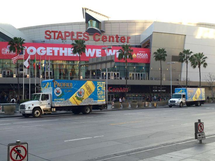 TSN Advertising & Pacifico at Staples Center