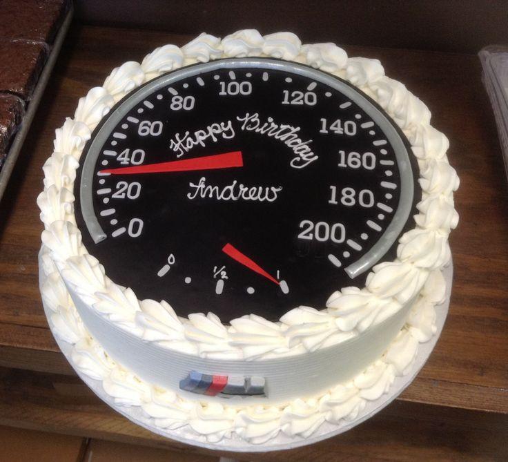Speed Cake Made By County Line Bakery, Edmond, Oklahoma
