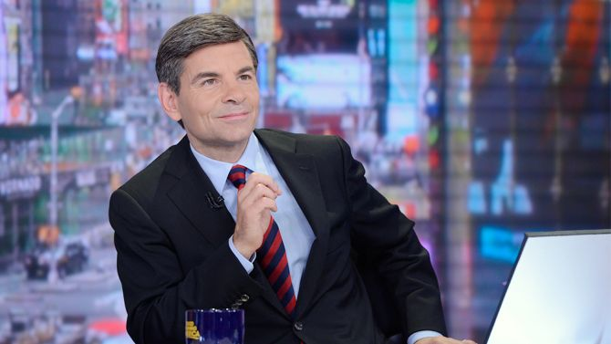 George Stephanopoulos on Good Morning America apologizes to viewers