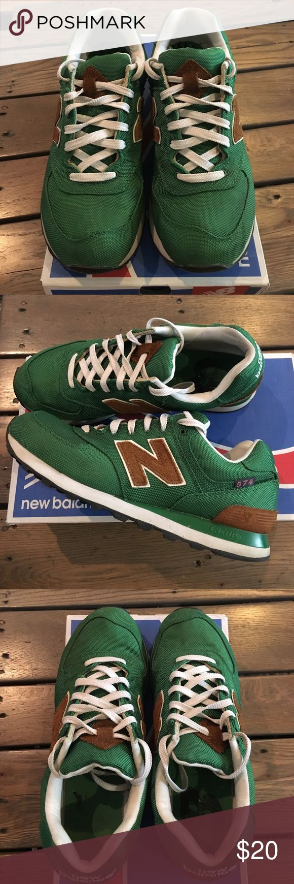 Green New Balance Sneakers Good condition green New Balance sneakers. New Balance Shoes Sneakers
