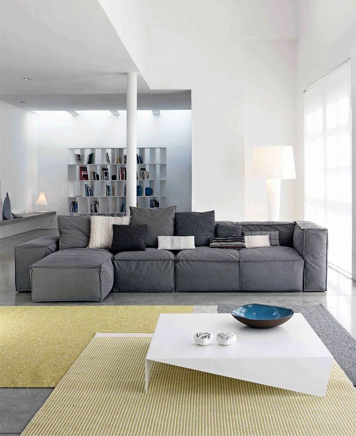 Canape Modulable Peanut B Design De Mauro Lipparini Sofa Design Wohnzimmer Sofa Modulares Sofa