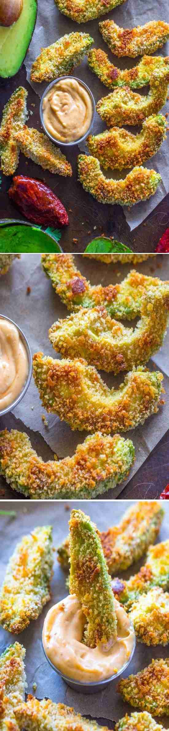 Fresh sliced avocado, coated in crispy panko breadcrumbs and baked to perfection. These avocado fries are incredibly tasty and easy …