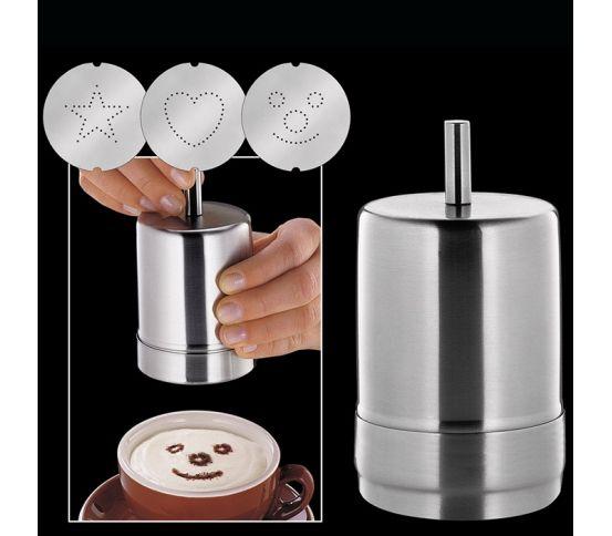 Cilio - dekorator do kawy Choco Latte. Kawa, kawa z posypką czekoladową, kawa z dodatkami, przyprawy do kawy