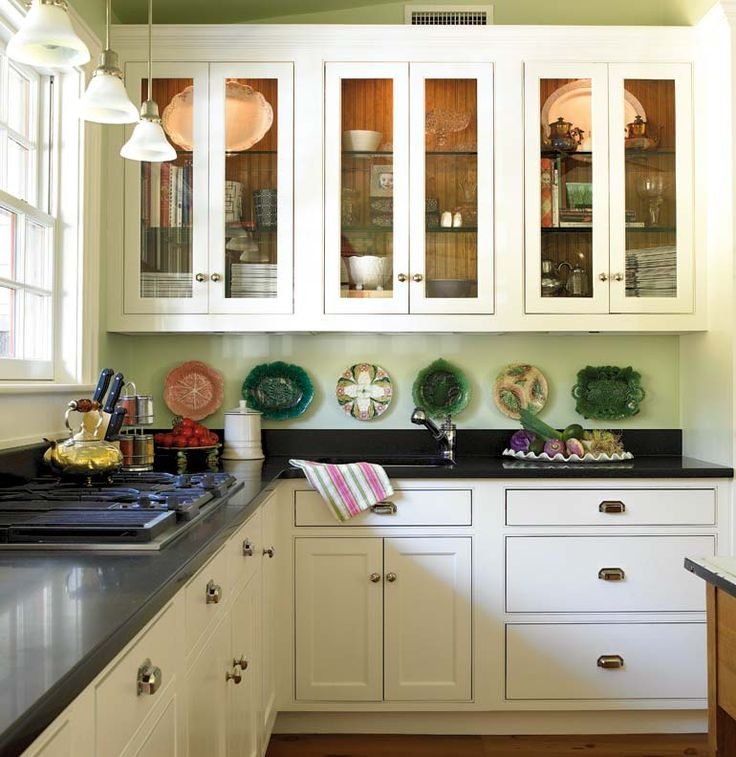 To create a timeless look the owners of this circa 1780 for 1930s kitchen cabinets for sale