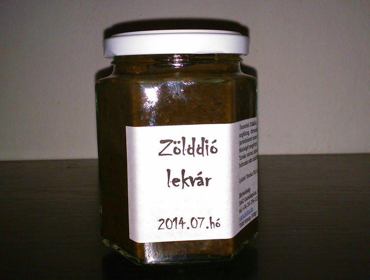 Petiza: Zöld dió lekvár 280ml - Lekvár - Petiza - Termelői...