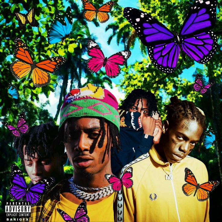 Playboi carti x yung bans butterfly coupe (With images