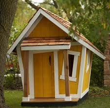 Fun playhouse: Chicken Coops, Whimsical Playhouses, Playhouses Design, Gardens Playhouses, Plays Houses, Outdoor Playhouses, Funky Bunki, Kid, Play Houses