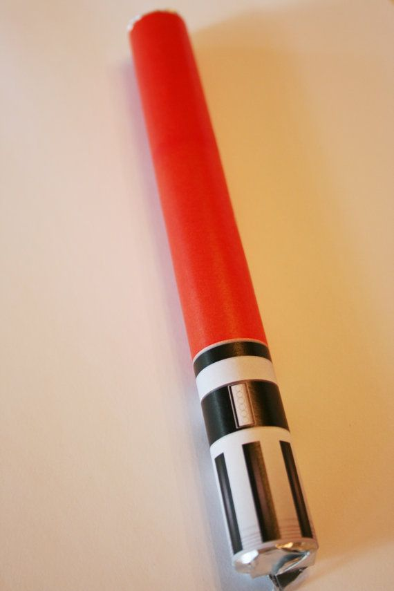 Star Wars Darth Vader Lightsaber Candy by extramoneyformommy