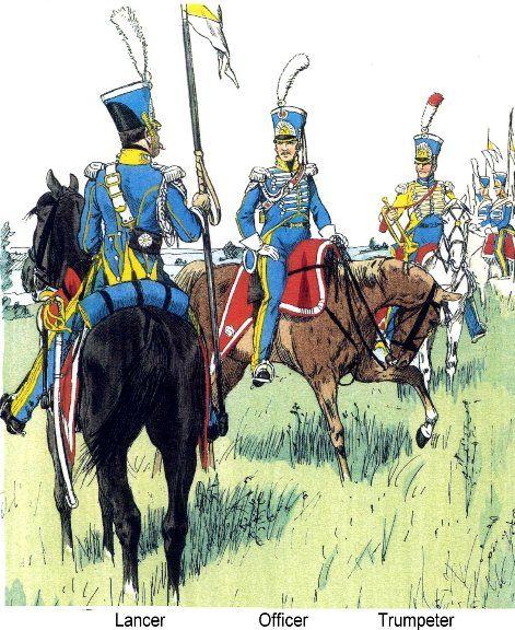 Naples Royal Guard Lanciers 1812b