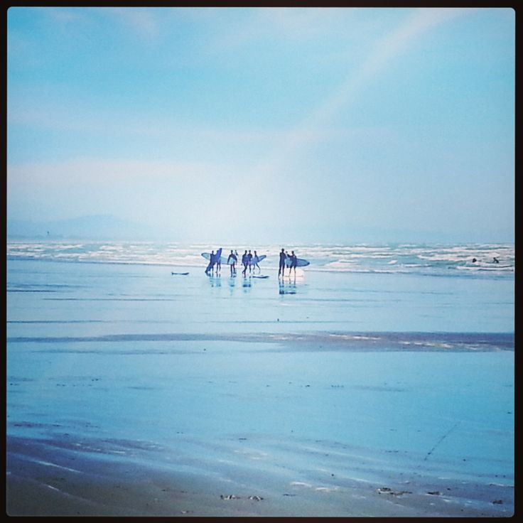 Saturday morning surf lesson, Sumner Beach #christchurch #pictureourcity #sumnerbeach