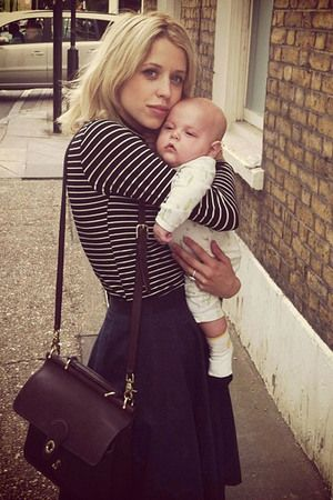 #Peaches Geldof #baby