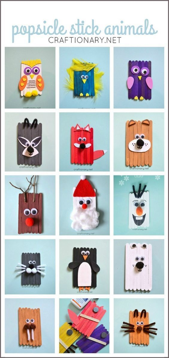 Popsicle stick animals mess free fun for kids cool kids crafts popsicle stick animals mess free fun for kids cool kids crafts pinterest lolly stick craft stick crafts and popsicle stick crafts solutioingenieria Choice Image