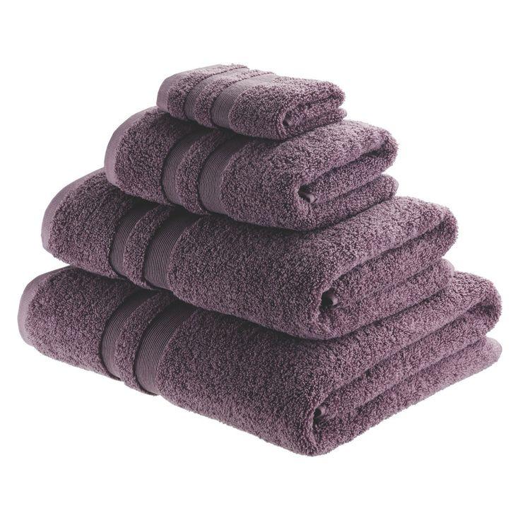 SPA COTTON Purple hand towel