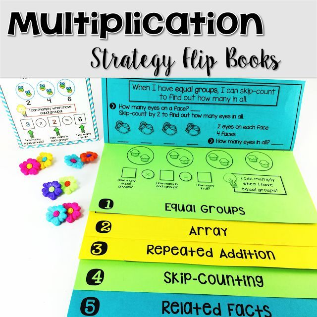 Best 25 multiplication strategies ideas on pinterest - One of your students left their book on the table ...