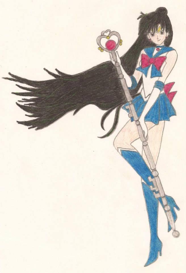 ~ Pretty Soldier Sailor Moon (美少女戦士セーラームーン) ~  ¬ Meiō Setsuna (冥王 せつな ) / Sailor Pluto (セーラープルート)