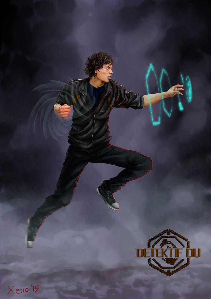 Detektif Du - fan art #1 Atya by xeno-agito on DeviantArt