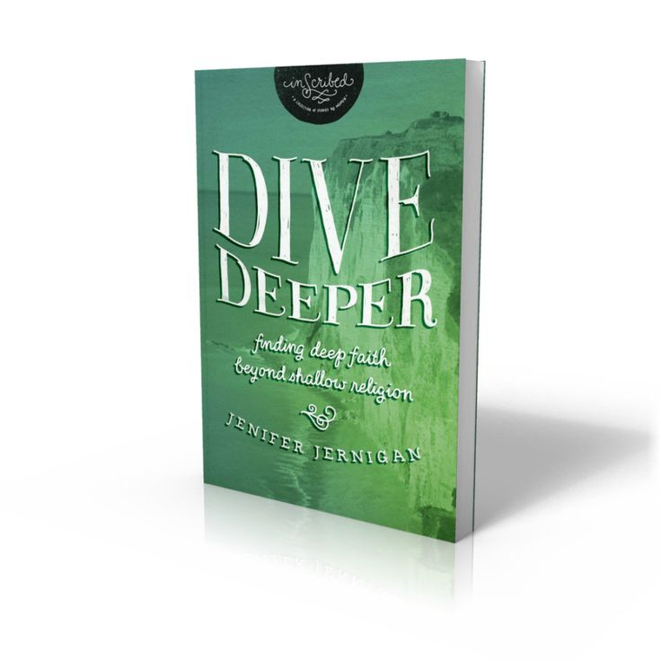 Author #JeniferJernigan is giving away a #DiveDeeper Gift Set in celebration of the release of #DiveDeeper:Finding Deep Faith Beyond Shallow Religion. Visit her and enter for your chance to win.