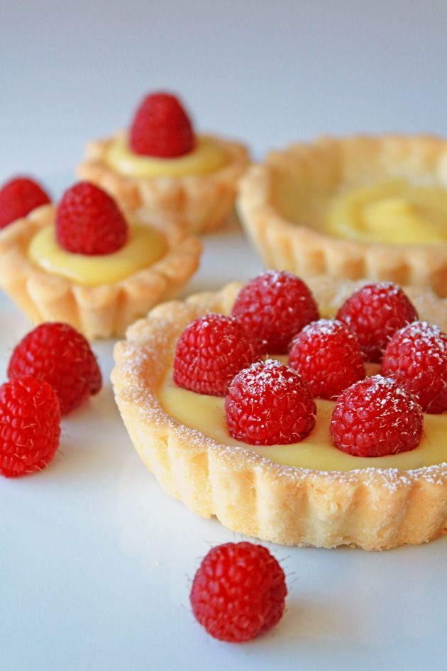 "These tartlets are pretty much ""leftover"" tartlets. I mentioned that I like to keep some shortbread cookie doughs in my freezer. And I knew that I had to dig one out when I realized I spent too much time staring at that jar of leftover lemon curd from..."