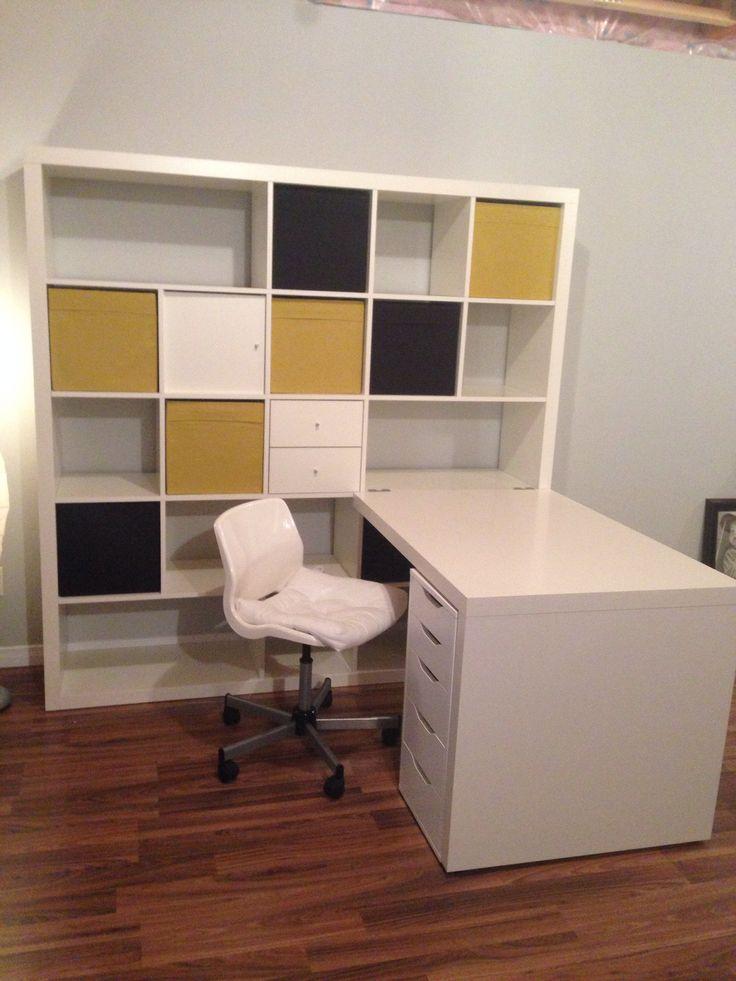 les 89 meilleures images du tableau rangement sur pinterest bureaux id es pour la maison et. Black Bedroom Furniture Sets. Home Design Ideas