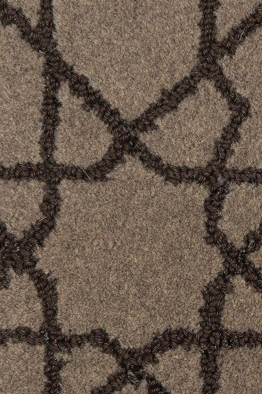 Riadh Wool U0026 Linen Rug In Dusk Colorway, By Merida.