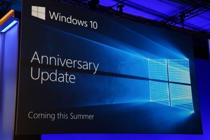 Windows 10 Yıldönümü Güncellemesi 2 Ağustosta yayınlanacak  http://www.teknoblog.com/windows-10-yildonumu-guncellemesi-yayin-tarihi-128342/