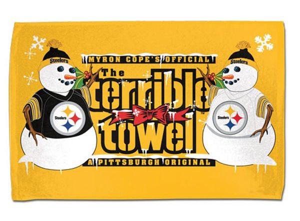 Pittsburgh Steelers Gold Terrible Towel License Plate