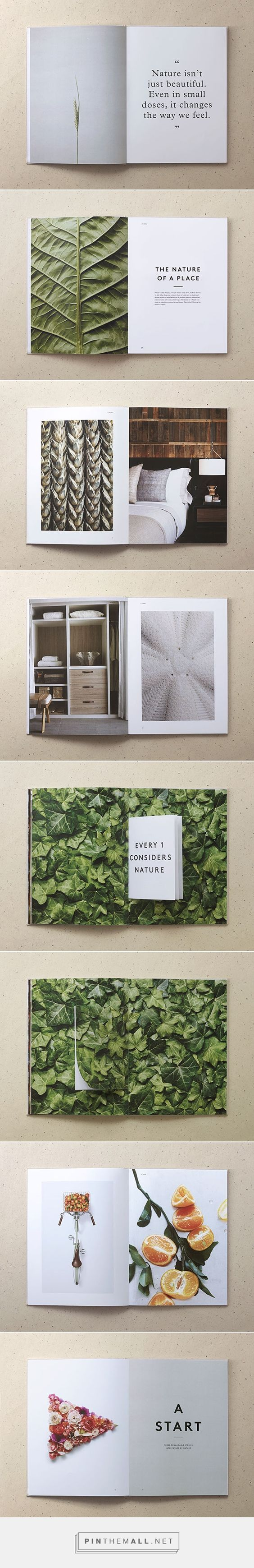 Love the big bold photos + texture ///// 1 Hotels by Jules Tardy & Christian Cervantes #print #design #layout: