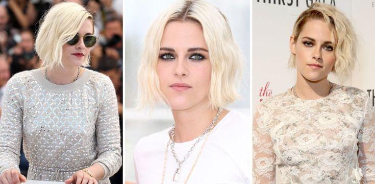 Colore capelli 2017: il biondo platino di Kristen Stewart strega tutti