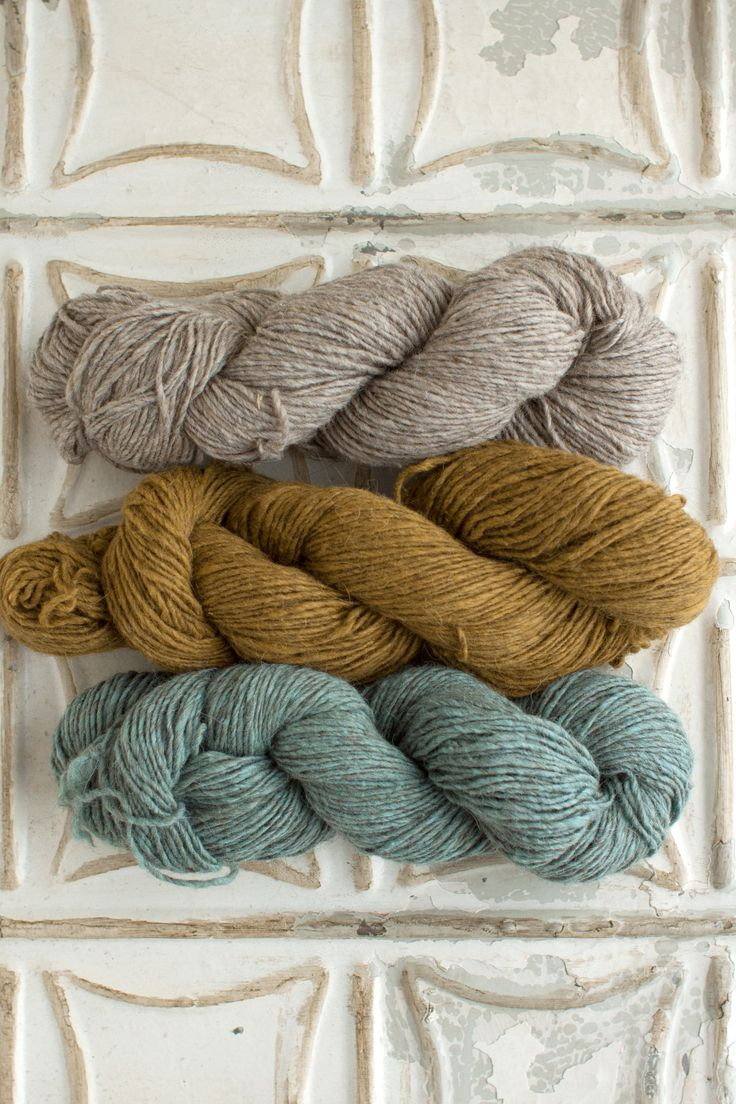 The Yarn for Blue Bell Hill Scarf kit includes 3 skeins of Local - 1 skein each of Colors A, B, and C. Get more info about Local, or choose your own unique color combo here! Download your free Blue Be