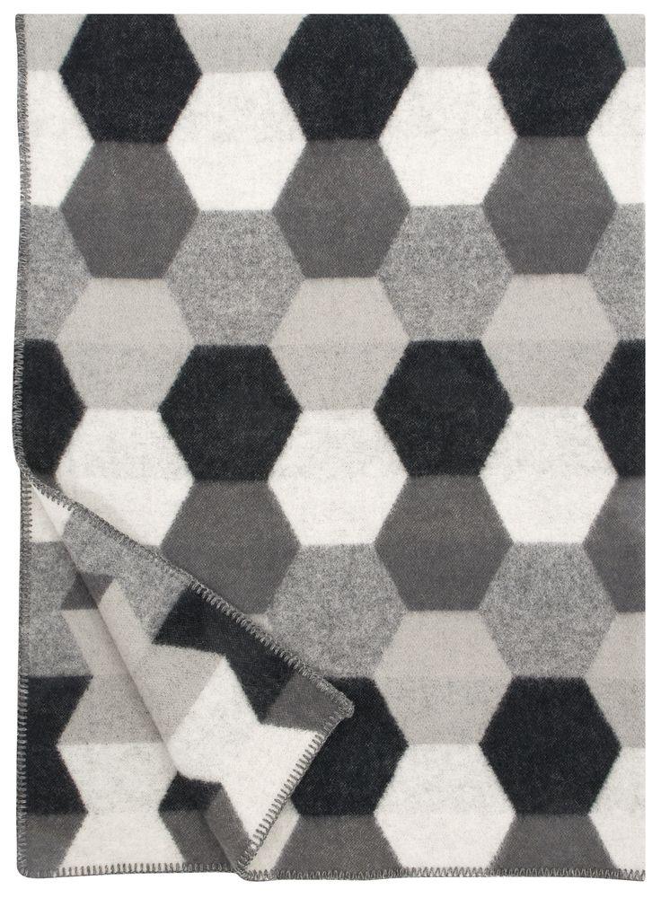 Lapuan Kankurit Tilkku blanket grey